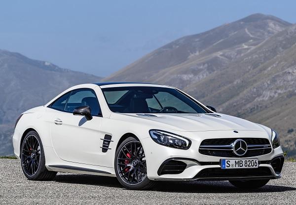 Salón de Los Ángeles 2015 Mercedes presentó al nuevo SL