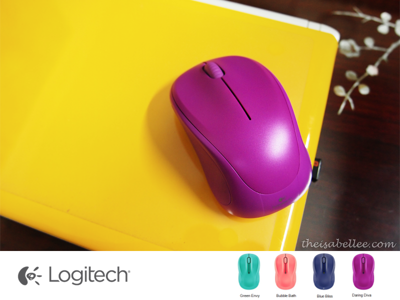 Logitech Wireless Mouse Daring Diva