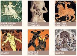 mitología griega y sus dioses