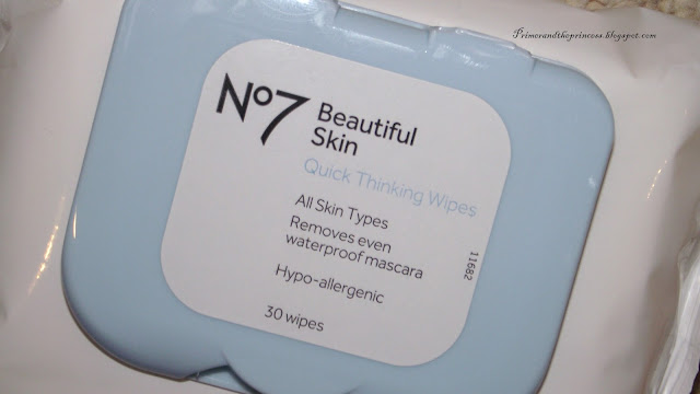 No7 Beautiful Skin Quick Thinking Make Up Wipes Review