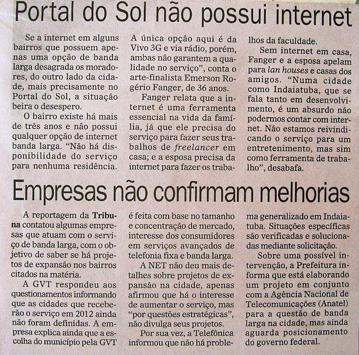 Jornal Tribuna de Indaiá 23-12-11