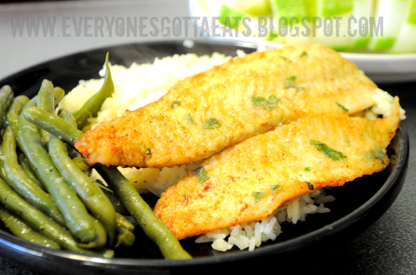 ... and came upon this pan fried flounder recipe adapted from the food