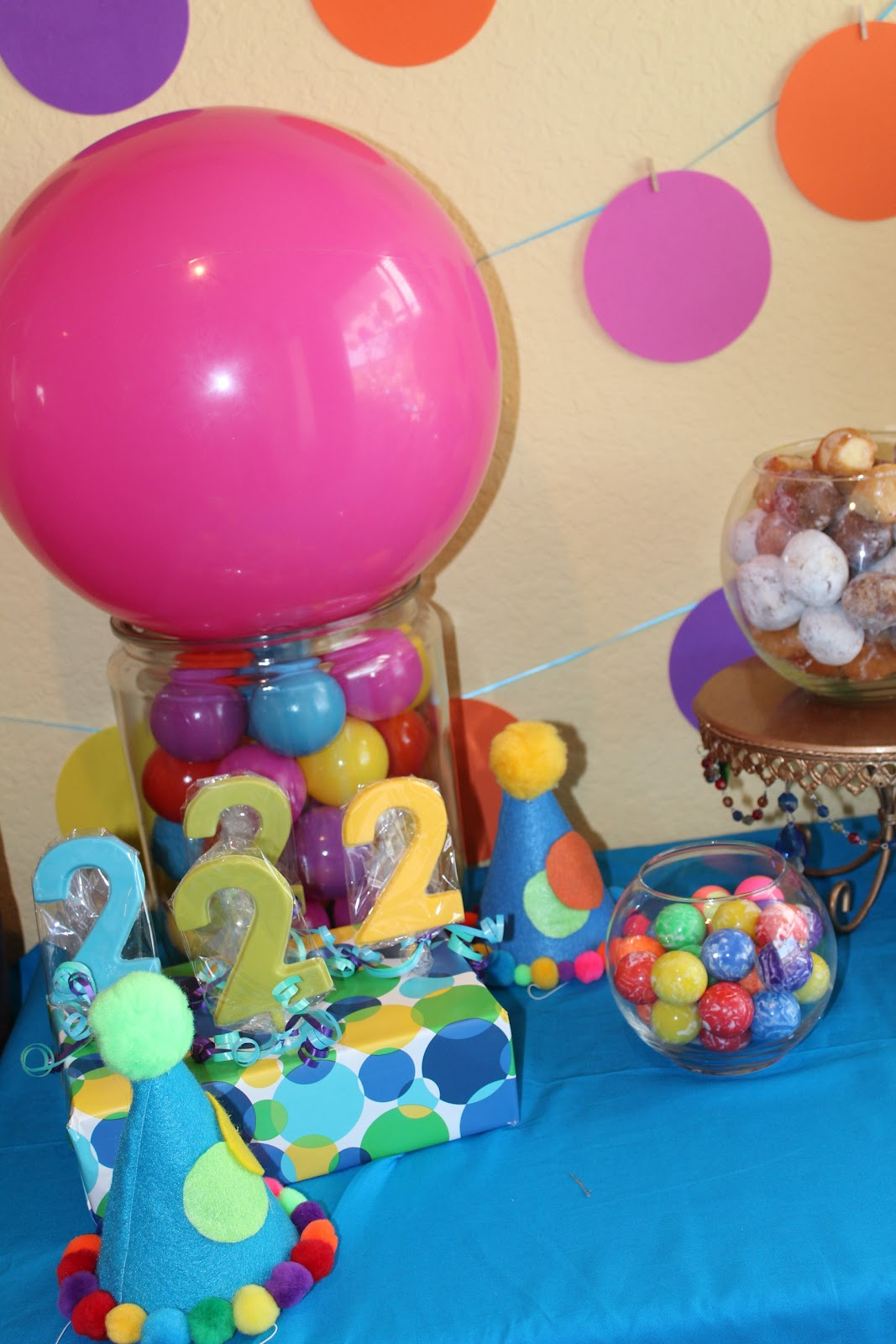 Cheerful events gavin 39 s 2nd birthday bounce ball party for 2nd birthday decoration