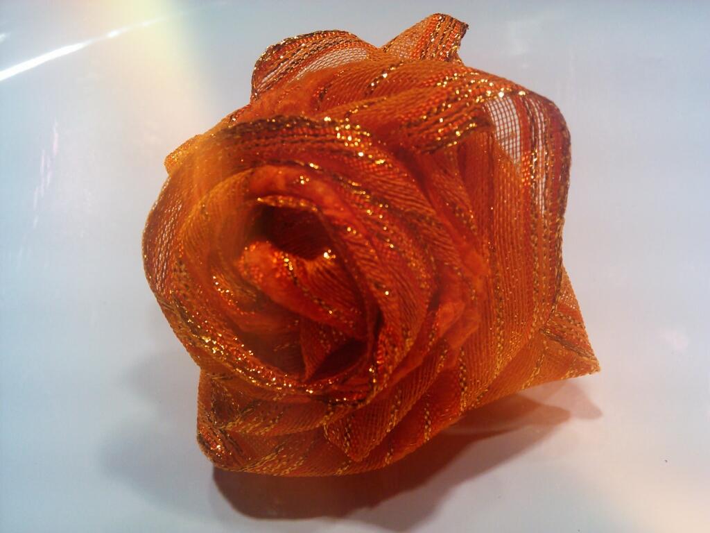 Riciclo Creativo - Rose di Stoffa