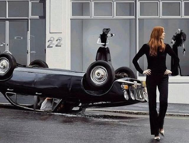Vintage Ladies of Car Advertising ~ vintage everyday