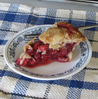 slice of crabapple pie