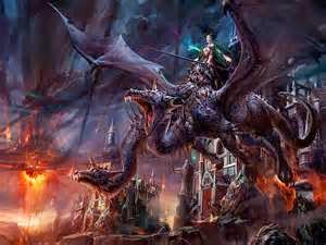 lucha del dragon