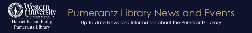 Pumerantz Library News & Events