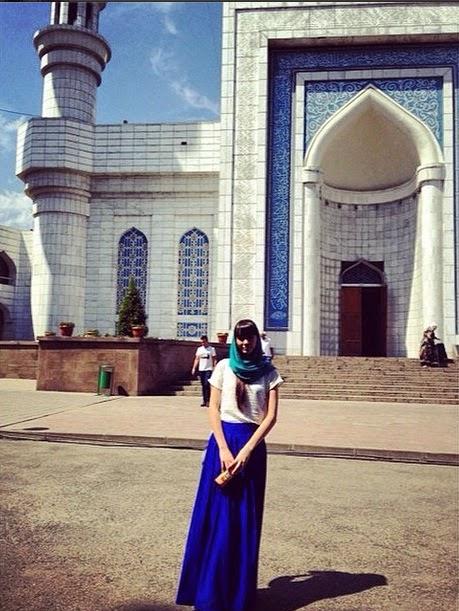 Jilbab ala Sabina Altynbekova