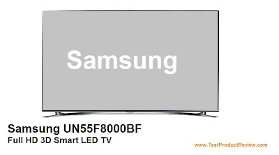 Samsung UN55F8000BF Full HD 3D Smart LED TV price, specs and review