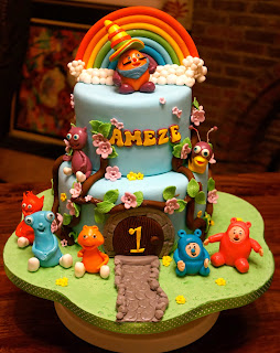 Once Upon This Cake.... Love, PJ: Baby TV themed cake