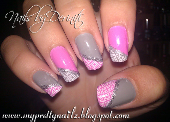 My Pretty Nailz Sweet And Simple Bundle Monster Nail Design
