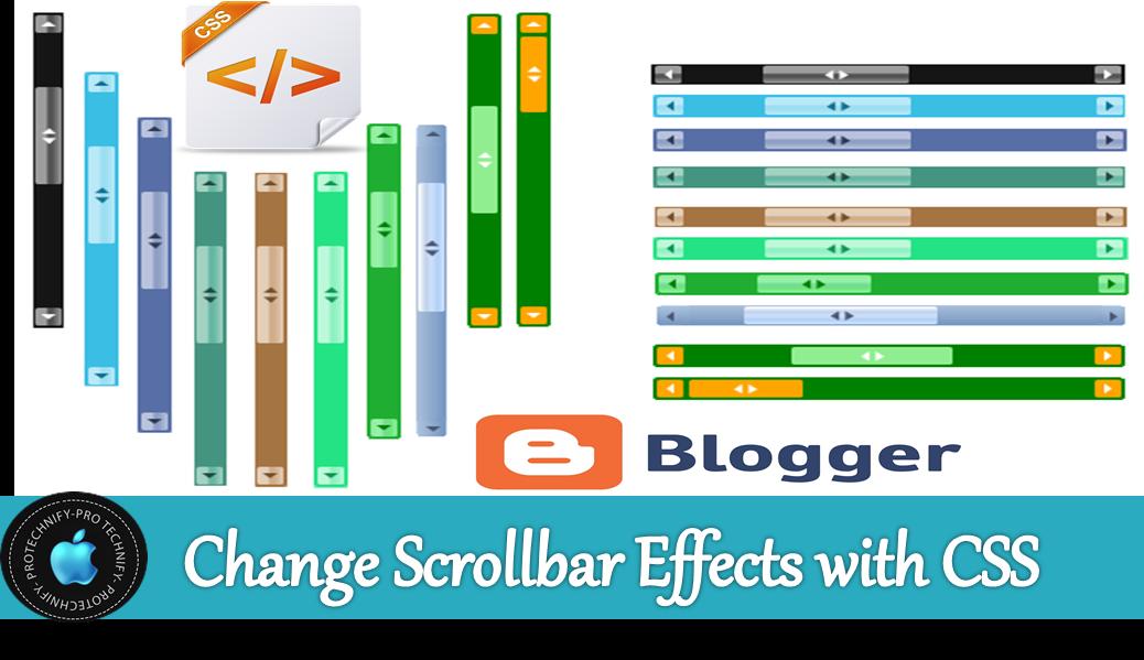 webkit scrollbar for blogger
