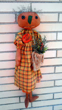 PRIMITIVE PUMPKIN ANNIE DOLL
