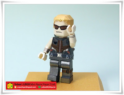 LEGO Hawkeye Paper Craft