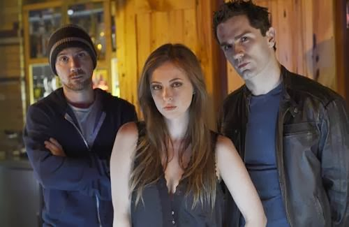 Sam Huntington, Katharine Isabelle and Sam Witwer in Being Human (series finale news)