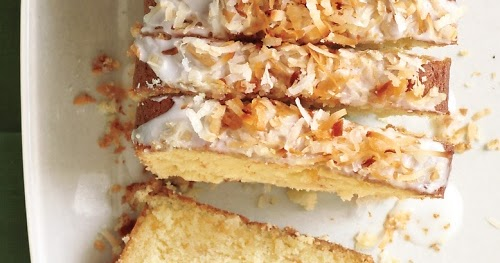 Cooking Recipes: Coconut-Buttermilk Pound Cake