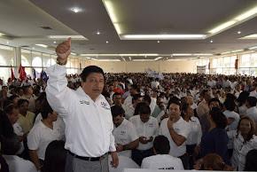 PARTIDO ENCUENTRO SOCIAL TOMA PROTESTA A SUS 212 CANDIDATOS
