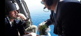 Απίστευτο: Ο Πάνος Καμμένος έριχνε στεφάνι στα Ιμια και από πάνω πετούσαν δύο τουρκικά F-16 [εικόνες]