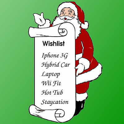 Wishlist for Christmas download free wallpapers for Apple iPad