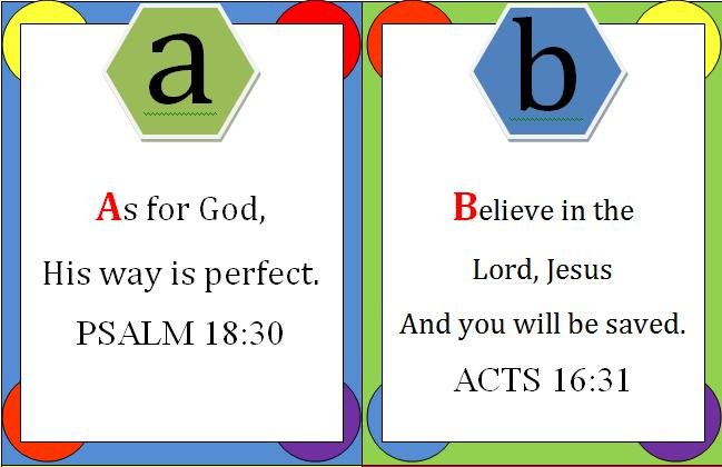Simplicity: Bible Verse Flash Cards