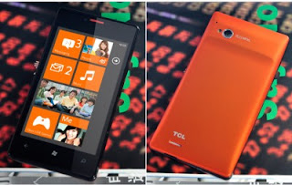 TCL S606, Smartphone Windows Phone 7.5 Harga Ekonomis