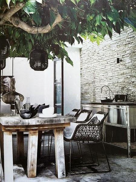 Ogrodowe krzesła ażurowe