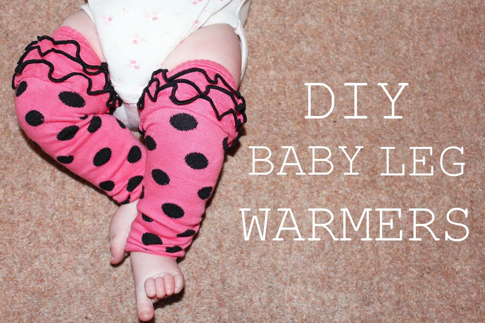 DIY Baby Leg Warmers - Oh So Amelia