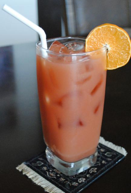 Апельсиновый сок для секса