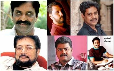 Vairamuthu, Naa.Muthukumar, Kabilan, Madhan, Ilaiyaraja, Syaam