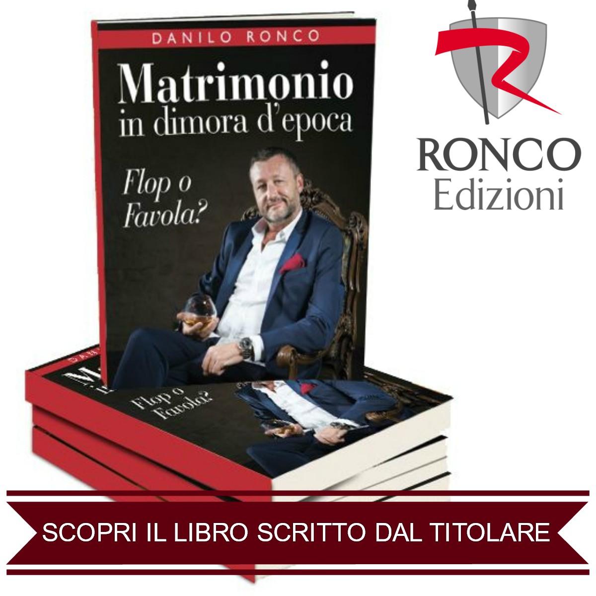 """Scopri il Libro: """"Matrimonio in dimora d'epoca...Flop o Favola?"""""""