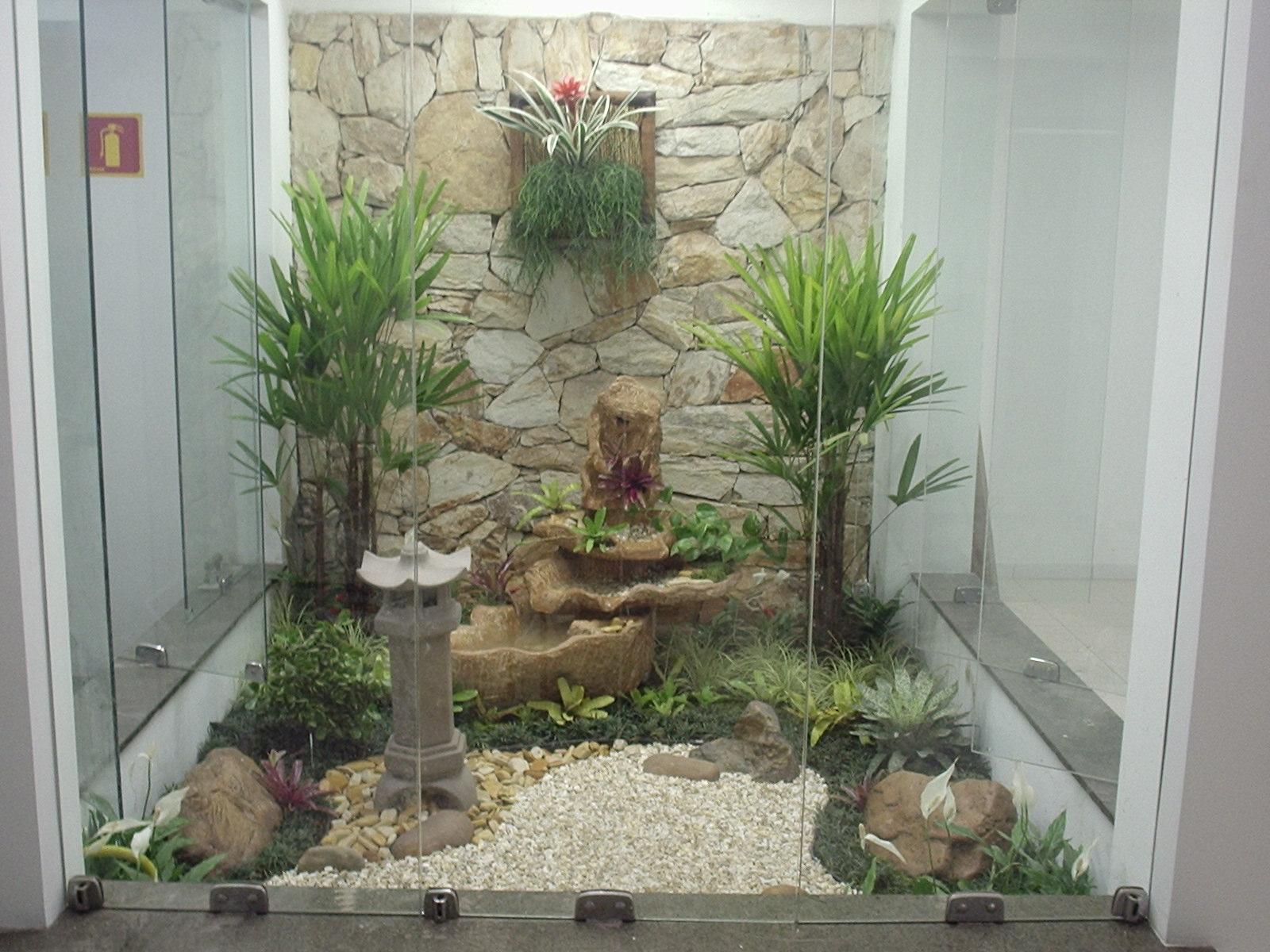Brincando com arte e decora o jardim de inverno - Plantas para jardin zen ...