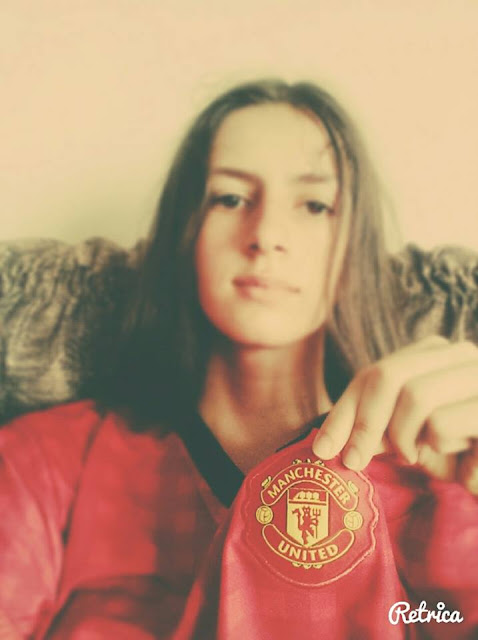 A Manchester United Girl from Georgia