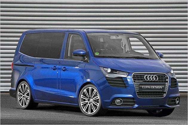Premium Bulli: Audi Transporter Concept Photos | CAR
