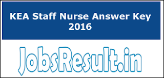 KEA Staff Nurse Answer Key 2016