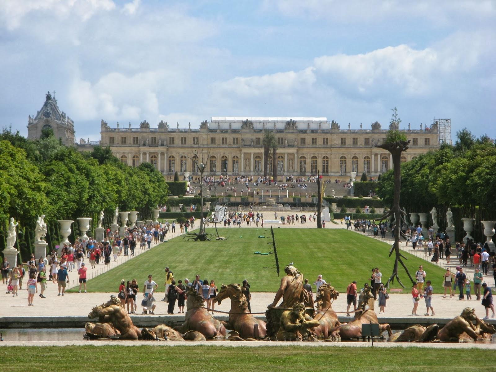 Carrelage Design le tapis vert : Chu00e2teau de Versailles: LE TAPIS VERT