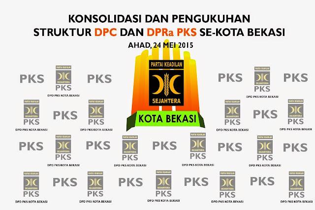 PKS Kota Bekasi Siap Gelar Pengukuhan Pengurus Tingkat Kecamatan dan Kelurahan