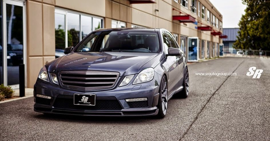 Mercedes Benz E63 AMG On PUR 4OURSP Wheels BENZTUNING