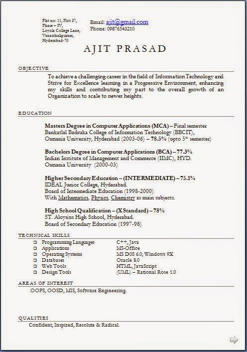 Strong Objective Statement Resume Resume Objective