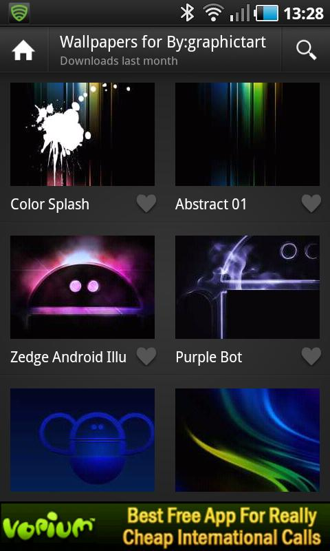 application phone zedge ringtones wallpapers for