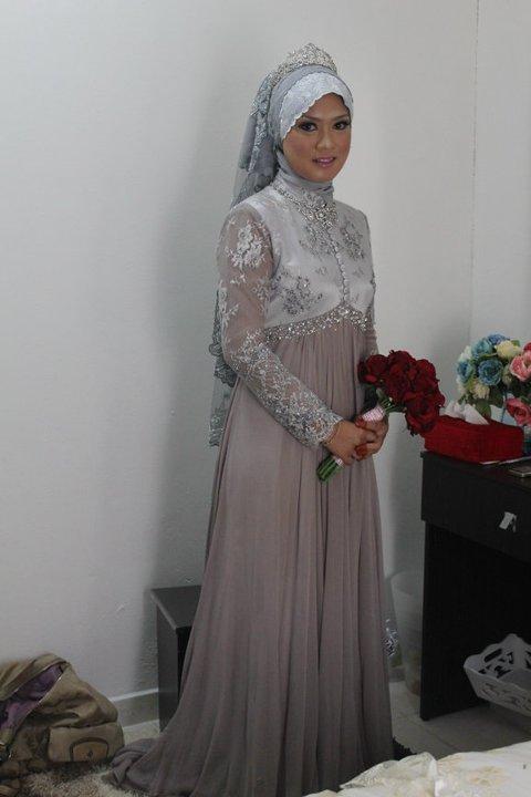 feel free: gaya tudung pengantin