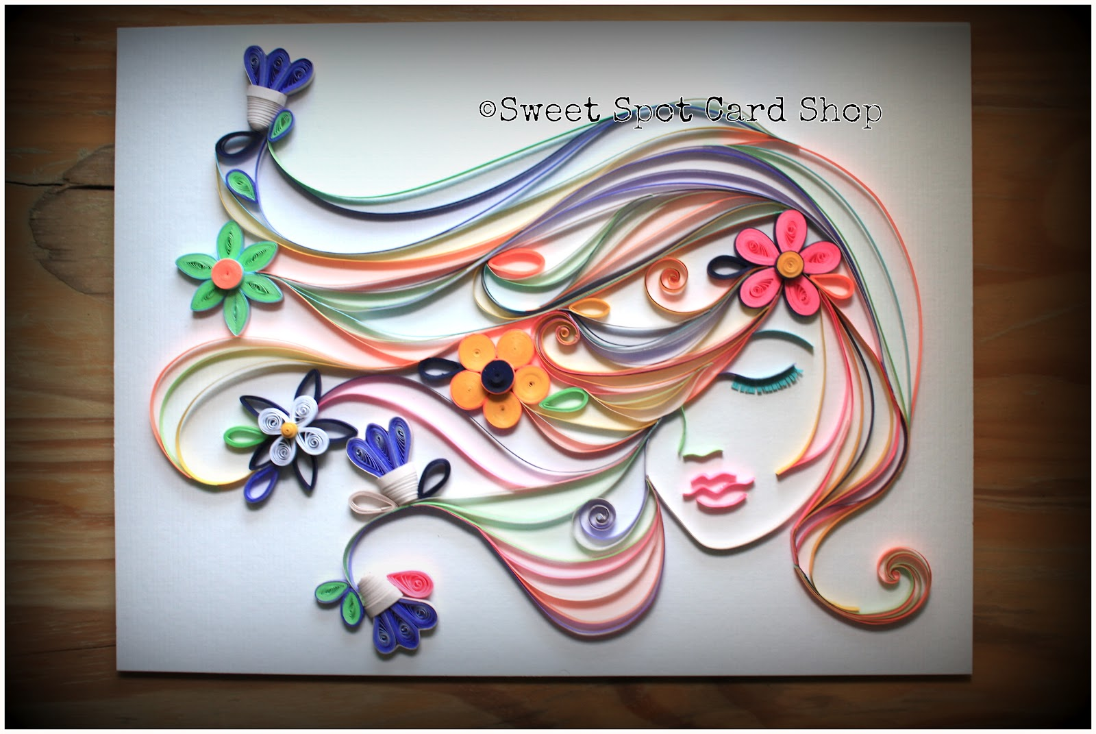 The sweet spot spring love for How to quilling art