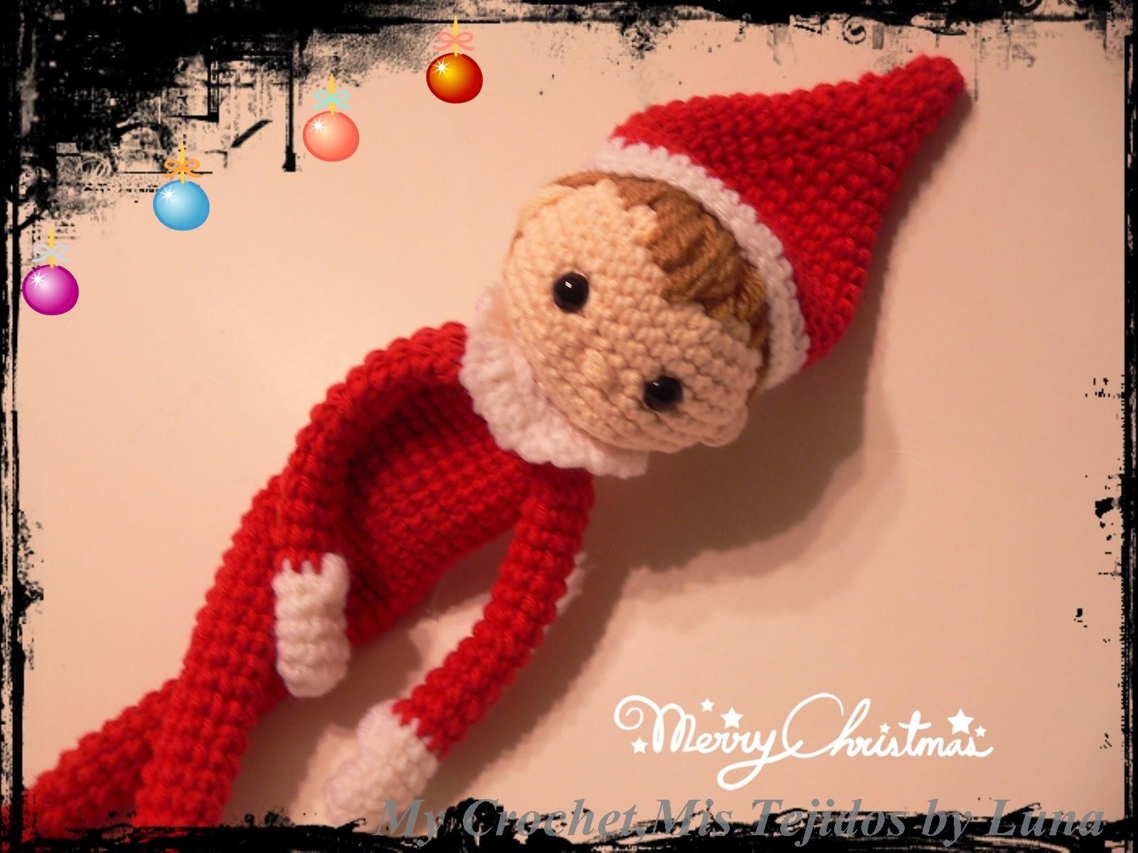 Crochet Elf On The Shelf Clothes Pattern