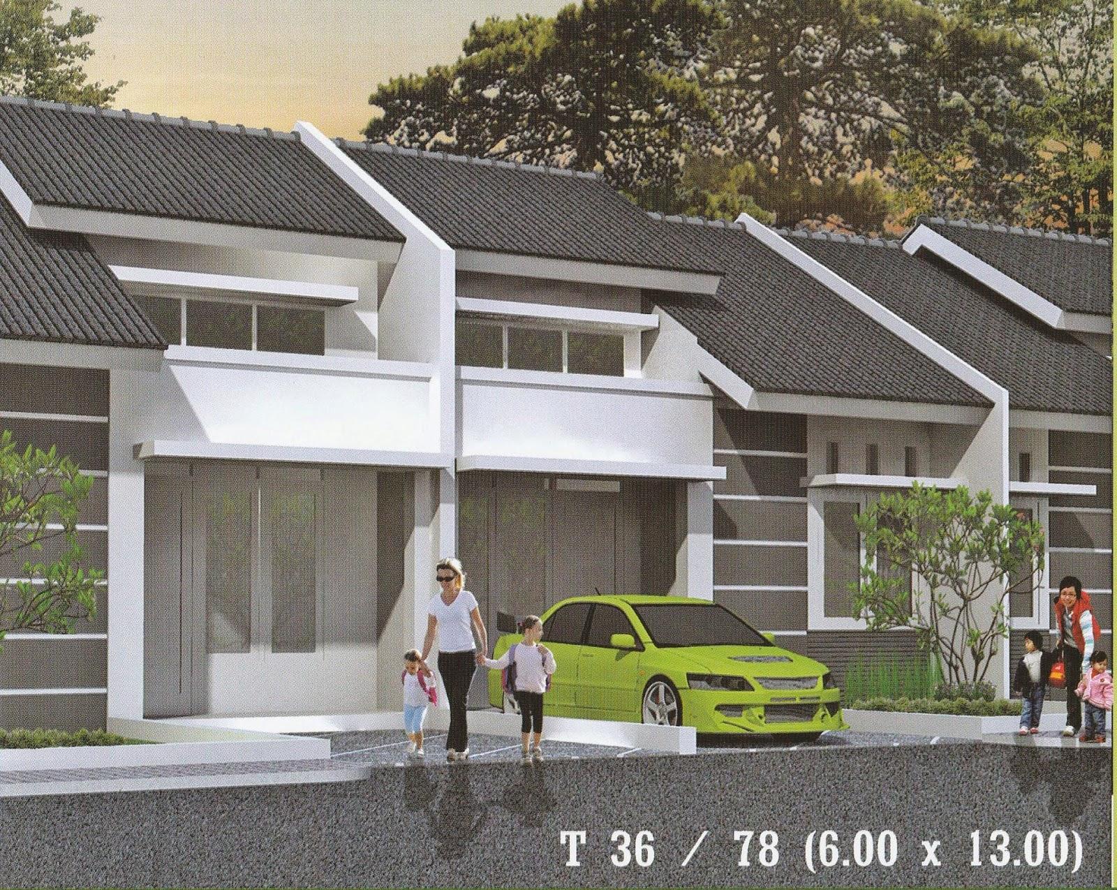 Desain Bangunan Rumah Type 36/78