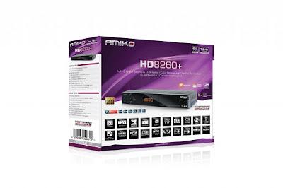 Atualizacao do receptor Amico CHD 8260 Plus V2.3.30