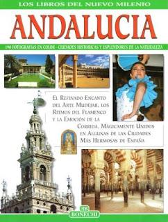 "Livro ""Andalucia"""