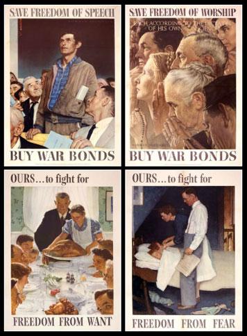 US History Teachers Blog: FDR's Four Freedoms Speech