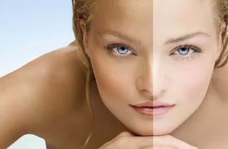 Glutathione skin whitening