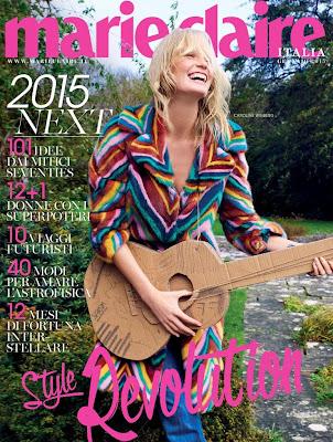 Caroline Winberg   Marie Claire Italia January 2015 | Magazines