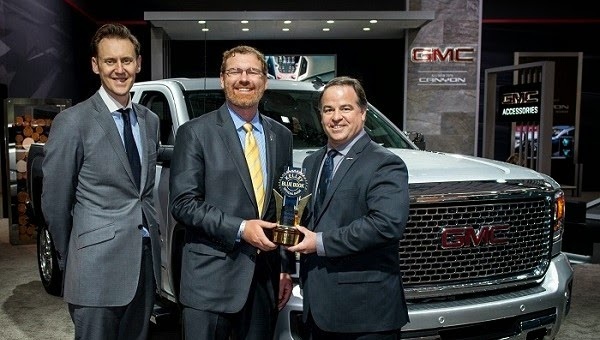 GMC Awarded at New York International Auto Show